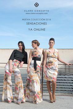 Nueva colección SS16 ya en nuestra web www.claroconcepto.com ¡No te podrás resistir! #claroconcepto #SS16 #Newcollection #Spanishfashion #modaespaña #shoponline #diseño #tiendaonline  