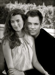 Tony and Ziva...what a great picture