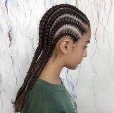 Cornrow braids by Circles of Subiaco