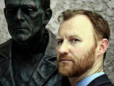 I LOVE Mark Gatiss! i mean, he writes for Doctor Who and Sherlock and stars in it as well!