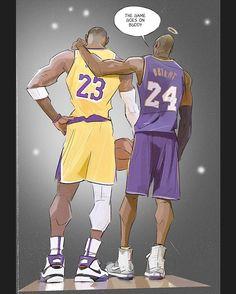Lebron James and Kobe Bryant Lebron James Lakers, King Lebron James, Kobe Lebron, Kobe Bryant Quotes, Kobe Bryant 8, Lakers Kobe Bryant, Sports Basketball, Basketball Players, College Basketball