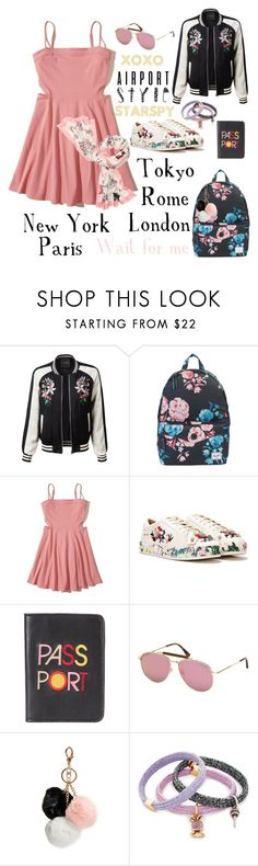 """Wait for me!"" by starspy ❤ liked on Polyvore featuring LE3NO, Herschel Supply Co., Hollister Co., Nasty Gal, Lizzie Fortunato, Tom Ford, GUESS, Marc Jacobs and Kate Spade"