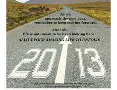 Move forward in 2013!