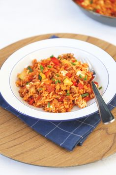 Rice Recipes, Dinner Recipes, Healthy Recipes, Healthy Food, Good Food, Yummy Food, Dutch Recipes, English Food, Rice Dishes
