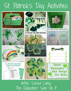 St Patrick's Day Activities For Sunday School. St Patricks Day Activities After School Link Up