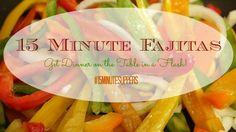 15 Minute Chicken Fa