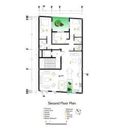Andarzgoo Residential  Building,Floor Plan