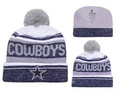 b540916d7 Men s   Women s Dallas Cowboys New Era 2016 NFL Snow Dayz Knit Pom Pom Beanie  Hat
