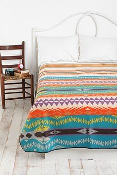 pendleton blanket ---- LOVE IT!!!! I think Urban Outfitters might be selling this in their new season!