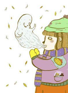 23 / Valeria Reynoso / Infancia / from: La vuelta al mes en 30 ilustradores