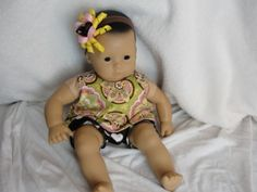 Top and bloomers for Bitty Baby - free pattern and tutorial