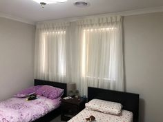 Sheer Curtains with Roller Blinds - Majestic Curtains and Blinds Sheer Drapes, Curtains With Blinds, Made To Measure Curtains, Roller Blinds, Modern Design, Luxury, Interior, Home Decor, Decoration Home
