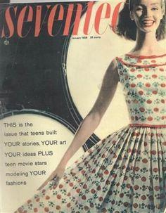 vintage seventeen magazine covers   Buttercup Bungalow: 1950's dresses -- perky!