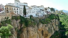 Ronda is a city in the Spanish province of Málaga, and it is situated in a mountainous area at about 750 m above sea level.