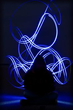 Light paint Light Trail Photography, Light Painting Photography, Art Photography, Led Light Installation, Light Trails, Photo Lighting, Long Exposure, Photography Projects, Light Art