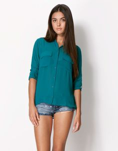 $279 Bershka México - Camisa BSK colores