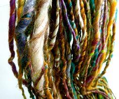 Spice Market Handspun Art Yarn Thick and Thin. https://www.etsy.com/listing/119151915/spice-market-handspun-art-yarn-thick-and# via Etsy.
