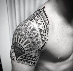 Tattoo Shoulder Maori Tat 56 Trendy Ideas tattoo designs männer ideen old school quotes Tattoos For Women, Tattoos For Guys, Cool Tattoos, Trendy Tattoos, Elbow Tattoos, Sleeve Tattoos, Maori Tattoo Designs, Neue Tattoos, Armband Tattoo
