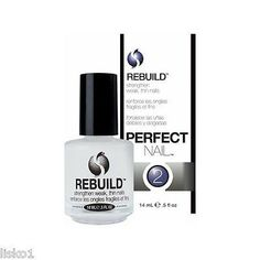 SECHE REBUILD #2 Perfect Nail II, Strengthen weak thin nails, 1/2 oz.