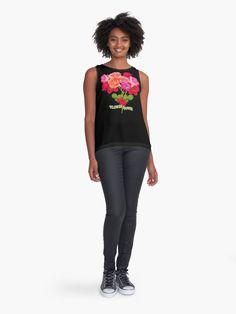 'Dreamless' Sleeveless Top by troyka Grumpy Cat Christmas, Cat Christmas Tree, Flower Power, Mandala Pattern, Zip Hoodie, Chiffon Tops, Sleeveless Tops, Fashion Outfits, Fashion Clothes