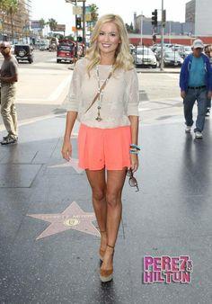 Emily Maynard-reality celebrity. My favorite southern belle