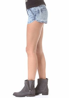 VOLCOM Womens Ur A Pistol Chino Short chambray