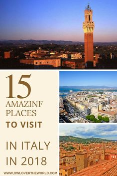 Looking to travel to Italy in 2018? The boot looking country can offer many wonderful places to chose from to visit. To help you to chose the best place for you to visit, I've asked some fellow travel bloggers and gathered this list of 15 places to visit in Italy in 2018 for you as an inspiration.   Traveling to Italy in 2018 / Places to visit in Italy in 2018 / Italy travel tips / Italy travel inspiration / Things to do in Italy / Places to travel to in Italy / 2018 travel destinations