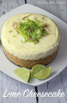 Lime Cheesecake is SO easy to make in the Instant Pot - have 25 minutes? You can whip this up for the family!