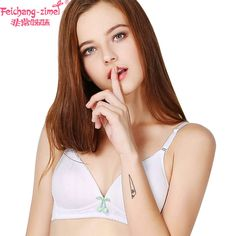 a2d7f825cf2 Free Shipping Feichangzimei Girls Underwear Girls Bra Cotton White /Apricot Training  Bra 2 Pack-100142