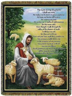 The Lord Is My Shepherd Clip Art | psalm 23 the lord is my shepherd the lord is my shepherd i shall not ...
