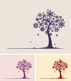 snowflake tree! ♥
