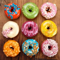22 leckere Rezepte zum National Donut Day – Homemade Recipes From Scratch – Donuts Delicious Donuts, Yummy Food, National Donut Day, Homemade Donuts, Baked Donuts, Spiced Apples, Donut Recipes, Pizza Recipes, Cake Recipes