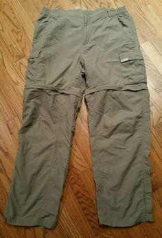 L Nylon Regular Size 32 Inseam Pants for Men Casual Pants, Khaki Pants, Columbia Sportswear, Hiking Gear, Shorts, Convertible, Parachute Pants, Mens Fashion, Shopping