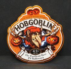 Hobgoblin: The Unofficial Beer of Halloween