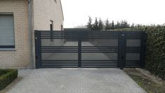 Automatische draaioort met vast hek in aluminium Glenfiddich Kwai | Metallooks