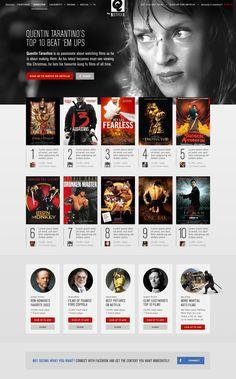 Netflix | Heather Luipold #webdesign #chicoandlui