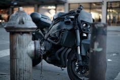 nice ride, motorcycles, car girls, bike, matt black, girl style, matte black, architecture, centerpieces