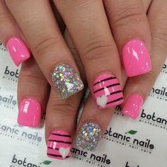 Instagram photo by botanicnails #nail #nails #nailart | See more nail designs at http://www.nailsss.com/...