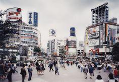 Shibuya Crossing by by Thomas Struth, Tokyo, 1991