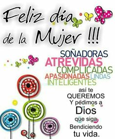 Mujer: Happy Birthday Video, Happy D, 8th Of March, Ladies Day, Mary Kay, True Love, Encouragement, Place Card Holders, Cards