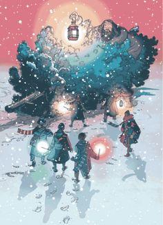 Rubeus Hagrid Christmas tree