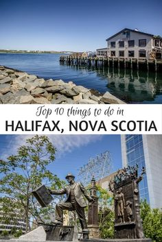 Theres just something perfectly endearing about Halifax Nova Scotia making the city one of the top spots to visit on Canada's east coast. Thanks to the fresh seafood friendly hospitality and pretty harbour it's easy to see why! East Coast Travel, East Coast Road Trip, Oh The Places You'll Go, Places To Travel, Travel Destinations, Vacation Places, Dream Vacations, Vacation Spots, Banff