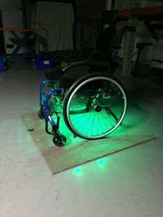 LED wheelchair lights