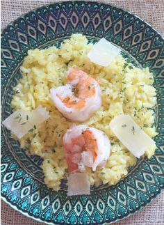 Shrimp risotto  Whole Foods is celebrating their Parmigiano Reggiano cheese again this year and they want to gi...