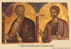 Иконы монастыря св. Павла (25) Orthodox Icons, Christian Art, Roman Catholic, Byzantine, Photo Wall, Painting, Beautiful, Byzantine Art, Fresco