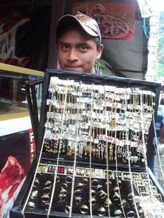 Street vendor, la feria c/u by permtran, via Flickr