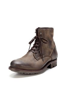 Charles Distressed Leather Lace Up Boots by n.d.c. made by hand at Gilt