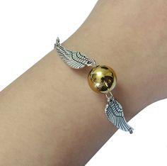 Famous Harry Potter Snitch Bracelet By Via Mazzini #Bracelet