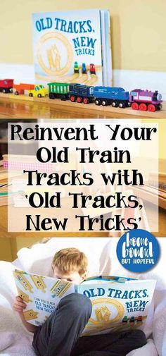 If your kids are getting bored with their trains sets, check out this fun picture book that will inspire them to play with trains in a new way. Be sure to read the full review of 'Old Tracks, New Tricks' and see what sort of fun your family can have with your boring old train tracks!