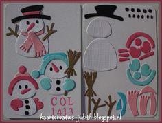 Sneeuwpop - Marianne Design